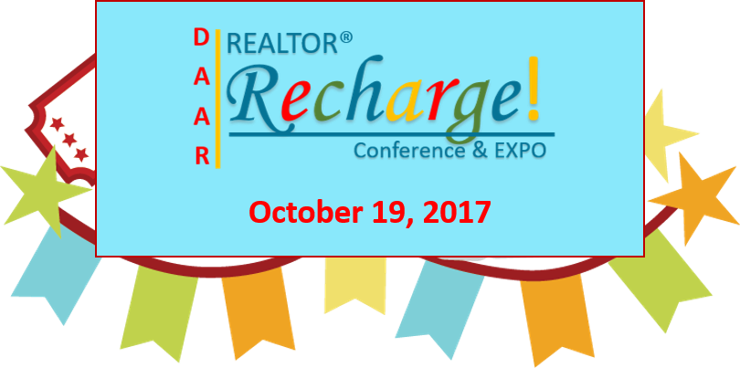 Realtor Recharge Conference and Expo October 19,2017