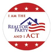 Realtor Party Political Button