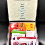 Box of Gift Cards