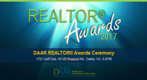 You're Invited! REALTOR® Awards Networking and Ceremony – Wednesday, 3/14, 5PM Post Thumbnail