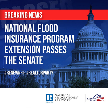 Breaking News: Flood Insurance Extension Passes Overwhelmingly Post Thumbnail