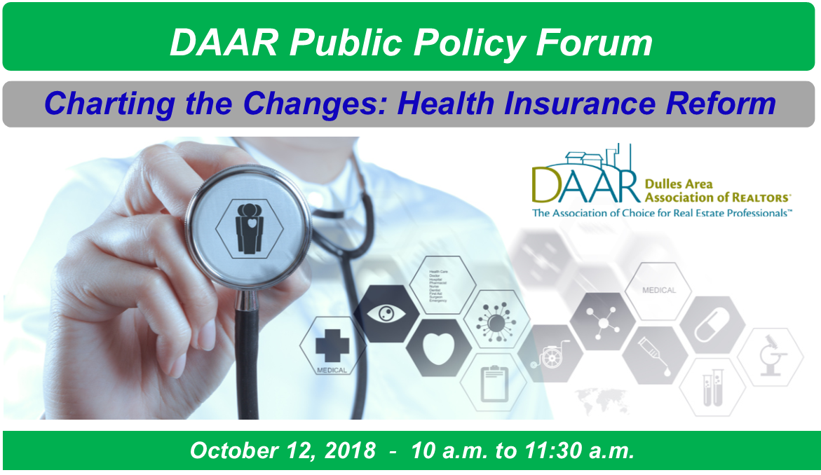 DAAR Public Policy Forum: Charting the Changes – Health Insurance Reform Post Thumbnail