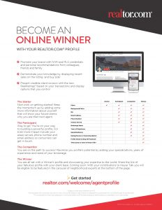 Become an Online Winner – Get Started with Your REALTOR.COM® Profile Today Post Thumbnail