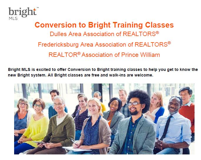 Register for Bright MLS Training Classes! Post Thumbnail