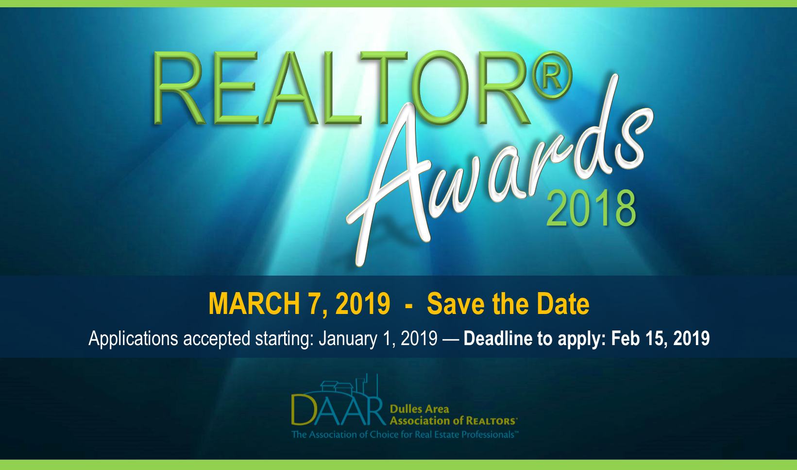 Apply for a DAAR REALTOR Award: It Makes Good Business Sense! Post Thumbnail