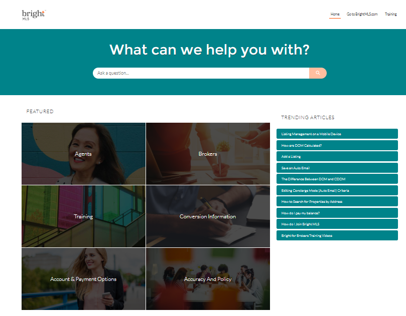 Bright MLS Launches New Online Help Tool Post Thumbnail