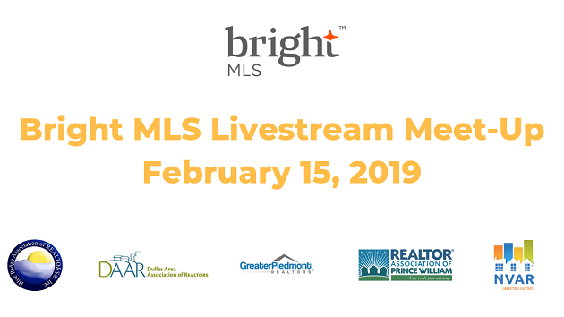 Join Us: Bright MLS Leadership Update via Livestream – Friday, 2/15 Post Thumbnail