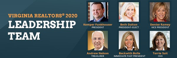 Virginia REALTORS® Select 2020 Leadership Team Post Thumbnail