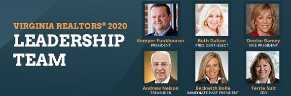Virginia REALTORS® Select 2020 Leadership Team Post Thumbnail