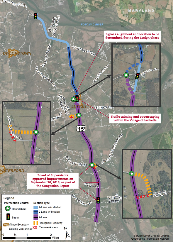 Loudoun County Approves Expanding Route 15 North of Leesburg Post Thumbnail