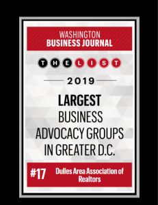 "DAAR Makes the Washington Business Journal's ""Top 25 Largest Business Advocacy Groups in Greater D.C."" Post Thumbnail"
