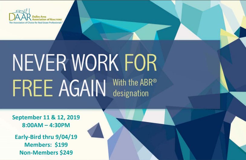 Never Work for Free Again with the ABR Designation – September 11th & 12th @ DAAR Post Thumbnail