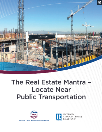 Joint Study Confirms Relationship Between Real Estate Values, Public Transportation Post Thumbnail