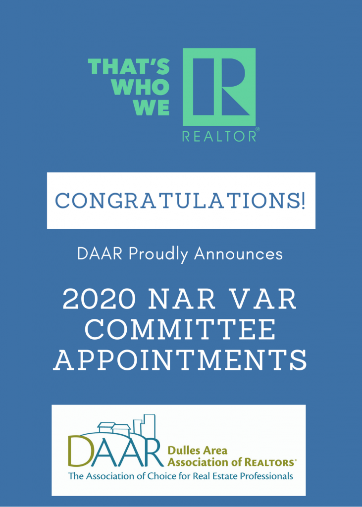 DAAR Members Appointed to National and State Association Posts Post Thumbnail