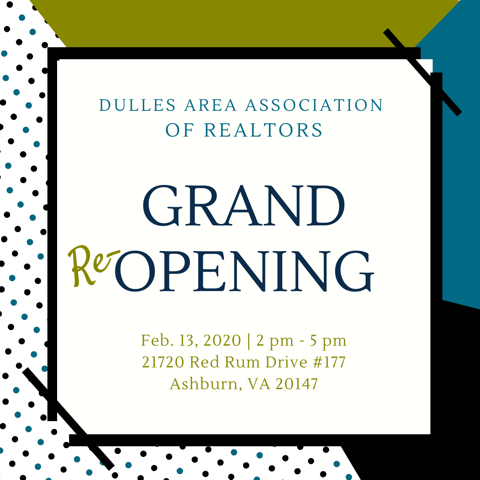 You're Invited to DAAR's Grand Reopening! Post Thumbnail