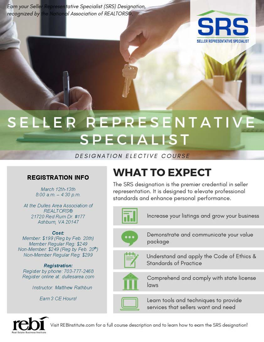 Get the Premier Credential in Seller Representation Post Thumbnail