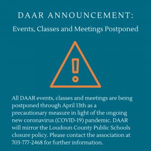 DAAR Closure Notice