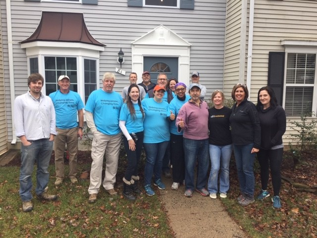 DAAR Habitat for Humanity team picture