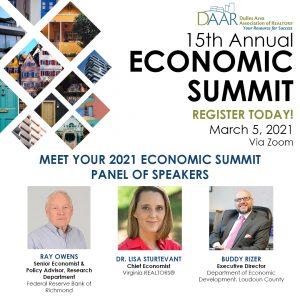Economic Summit information and Speakers