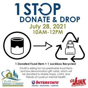 1 Stop, Donate & Drop Post Thumbnail
