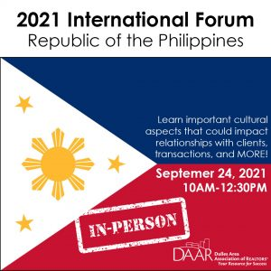 2021 International Forum: Republic of the Philippines Post Thumbnail