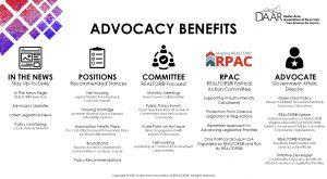 DAAR Advocacy Benefits