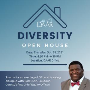 DAAR Diversity Open House 2021 Post Thumbnail